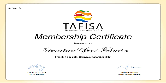 Another successfully for International Spoqcs Federation (ISF).
